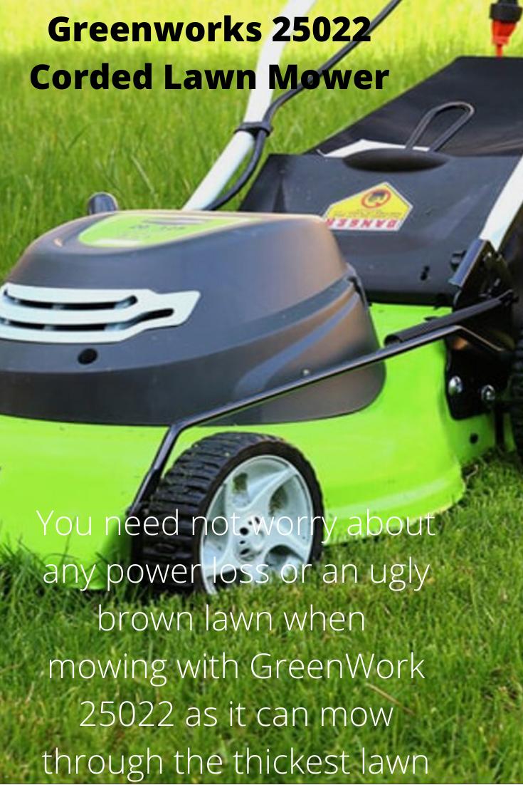 Corded Lawn Mower Lawn Mower Mower Lawn