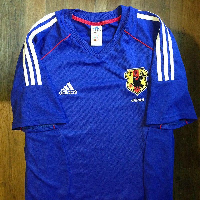 2002 Japan Home Jersey Jersey Shirts Adidas Jacket
