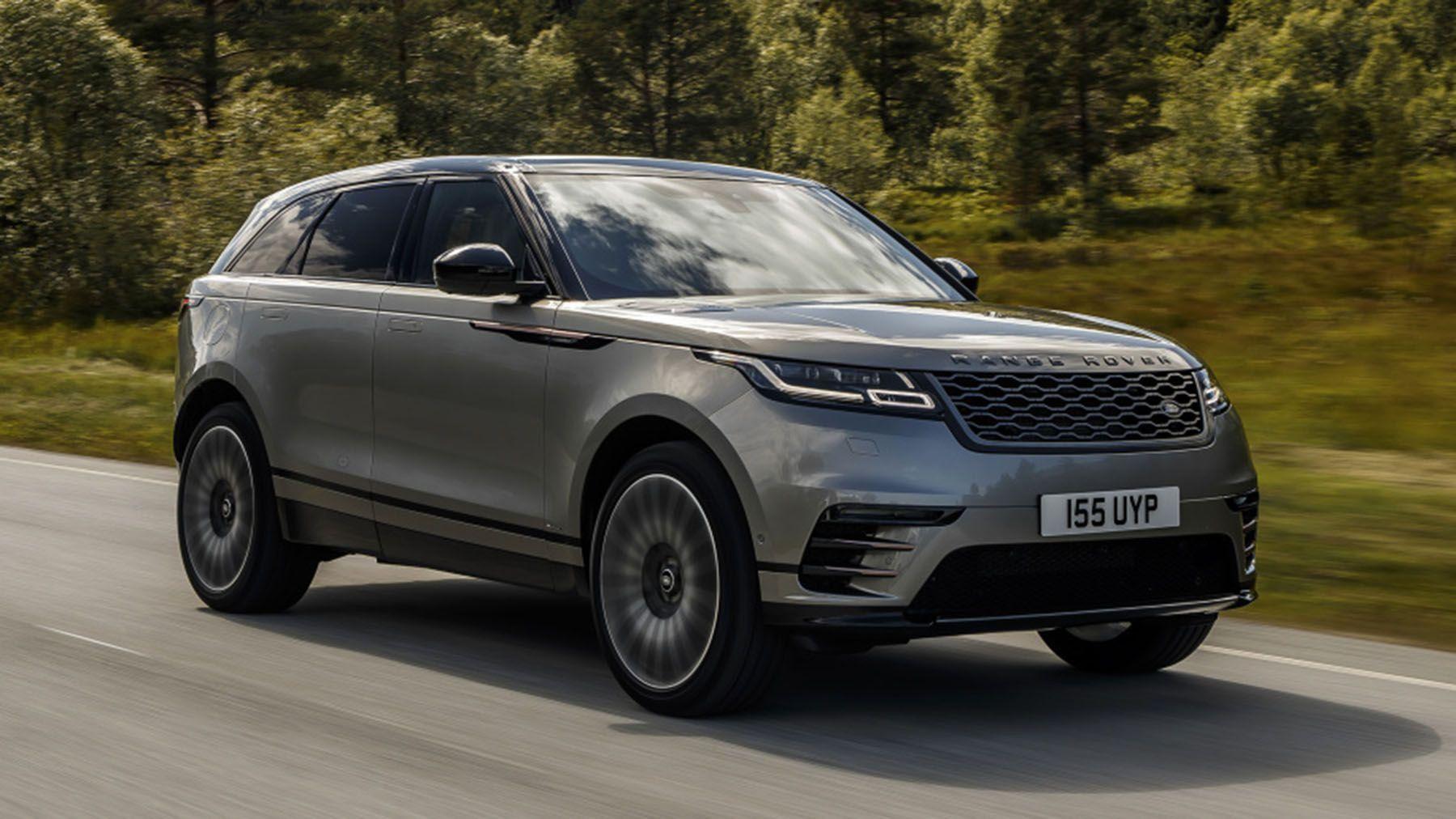2020 Range Rover Velar D300 2018 Range Rover Velar First