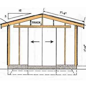 12 16 Shed Plans Free D I Y Shed Plans In 2018 Pinterest Shed