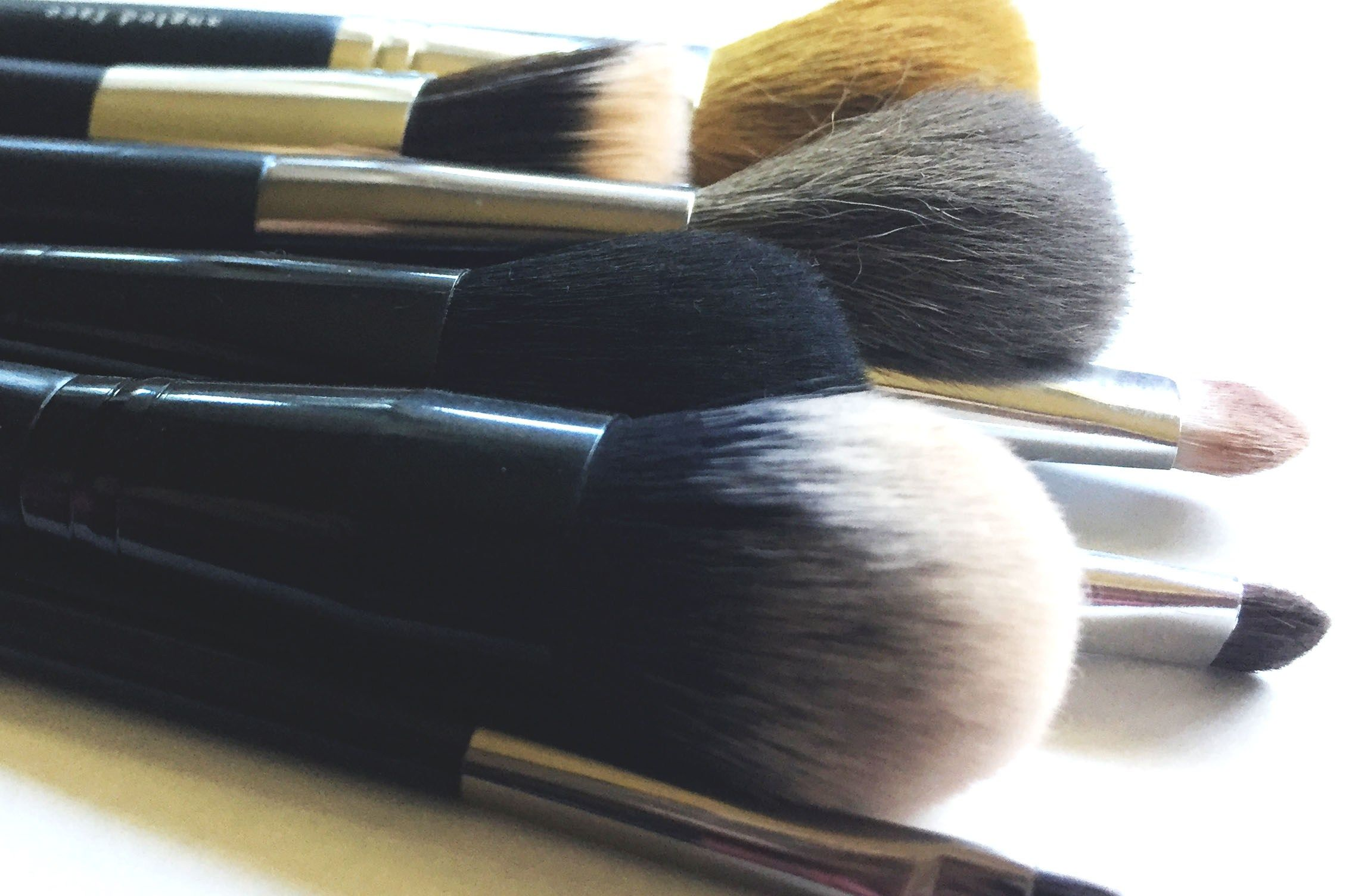 How often do you wash your makeup brushes Makeup