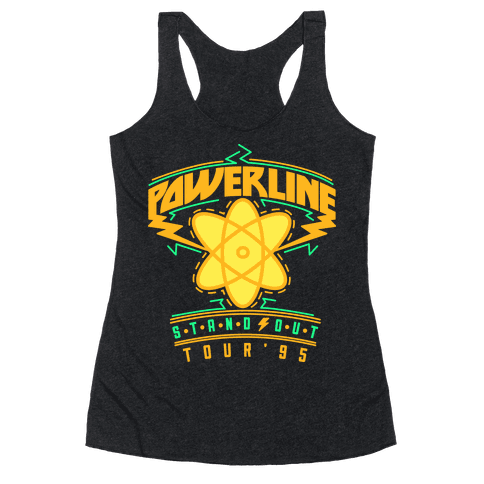 Powerline Tour - Dude remember the 90's sensation Powerline? I totally I have a shirt from his Stand Out tour. Eye to Eye was my favorite from that concert! Sure, it may look goofy to the max now, but you can impress your friends with this movie inspired tee.