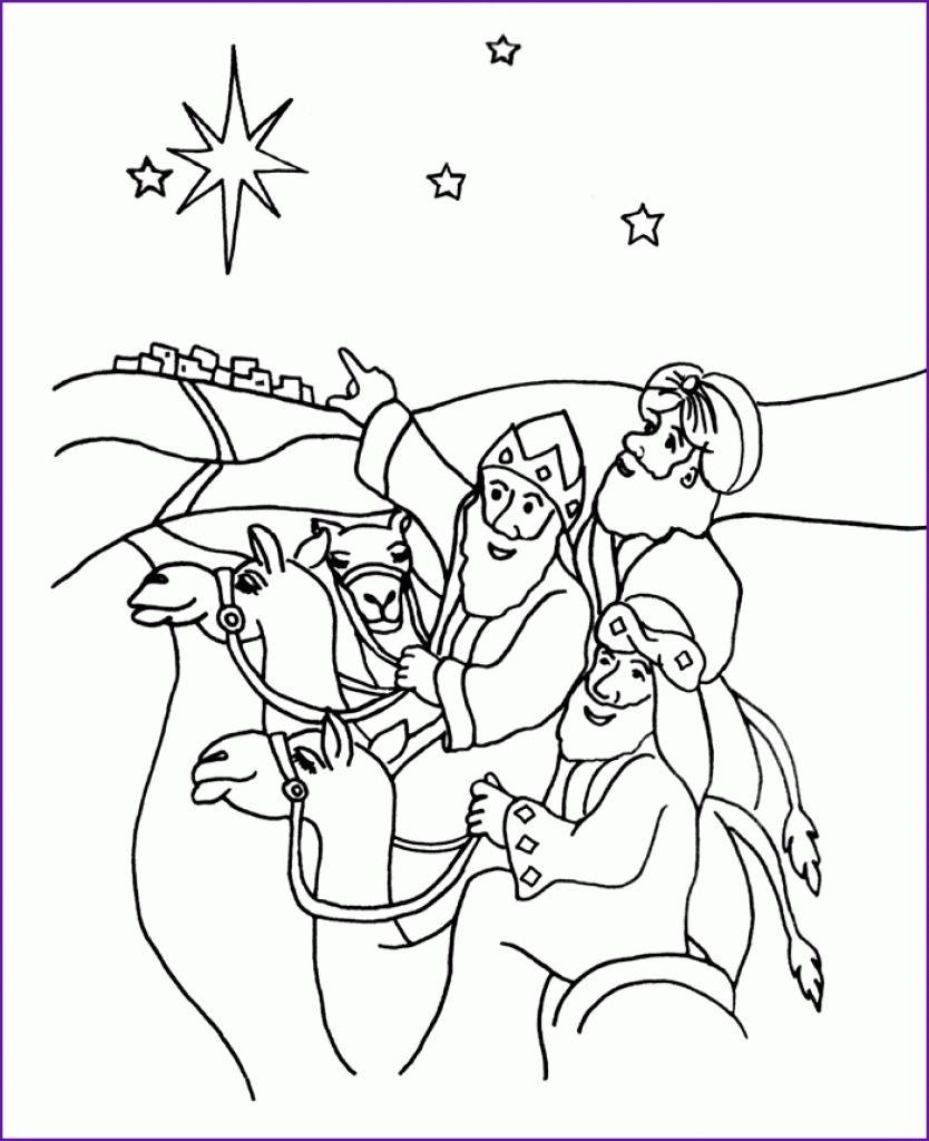 Wise Men Coloring Page Az Coloring Pages Pertaining To Wise Men Coloring Page Nativity Coloring Pages Coloring Pages Three Wise Men