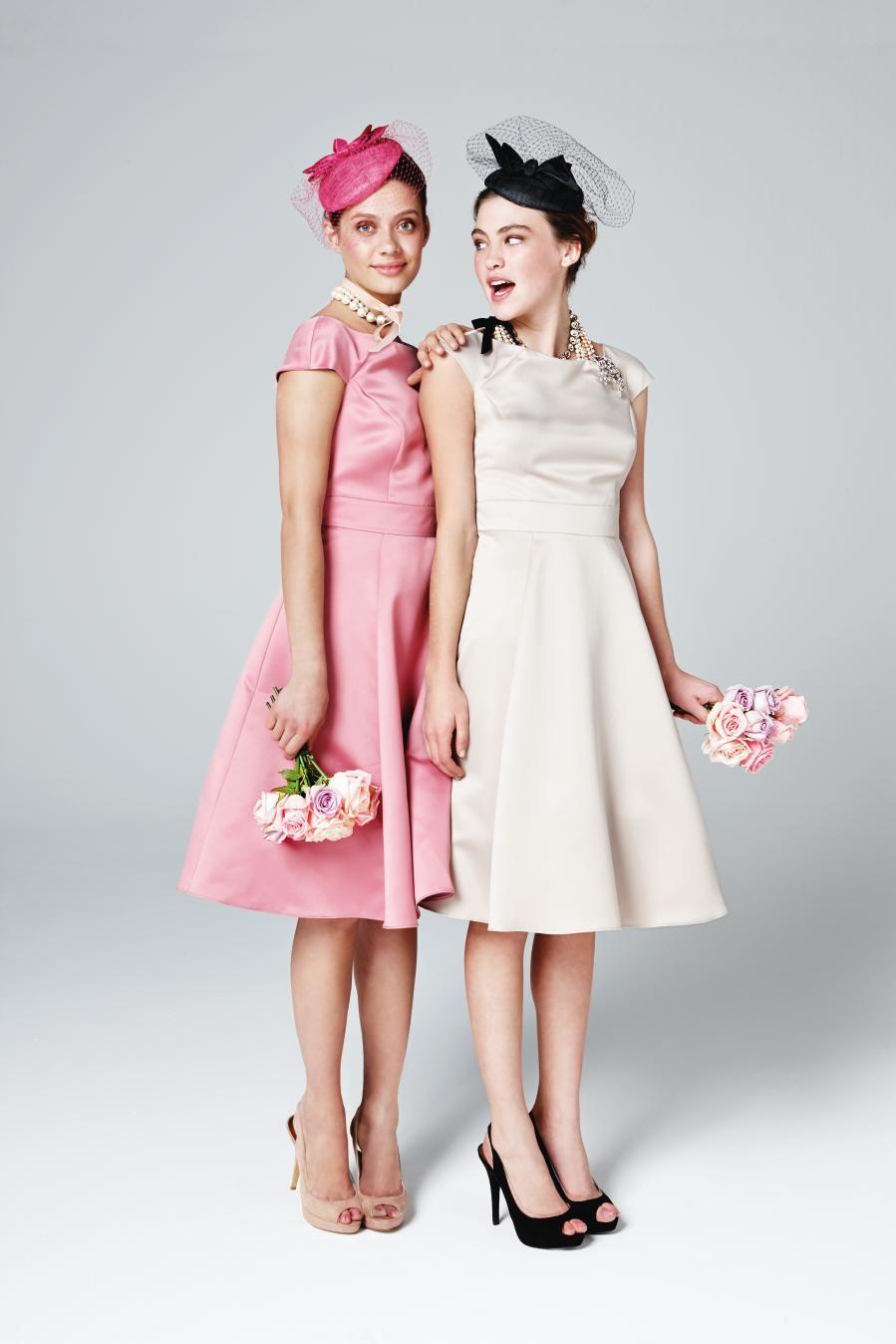 vintage style bridesmaids style   Moda   Pinterest   Damitas de ...