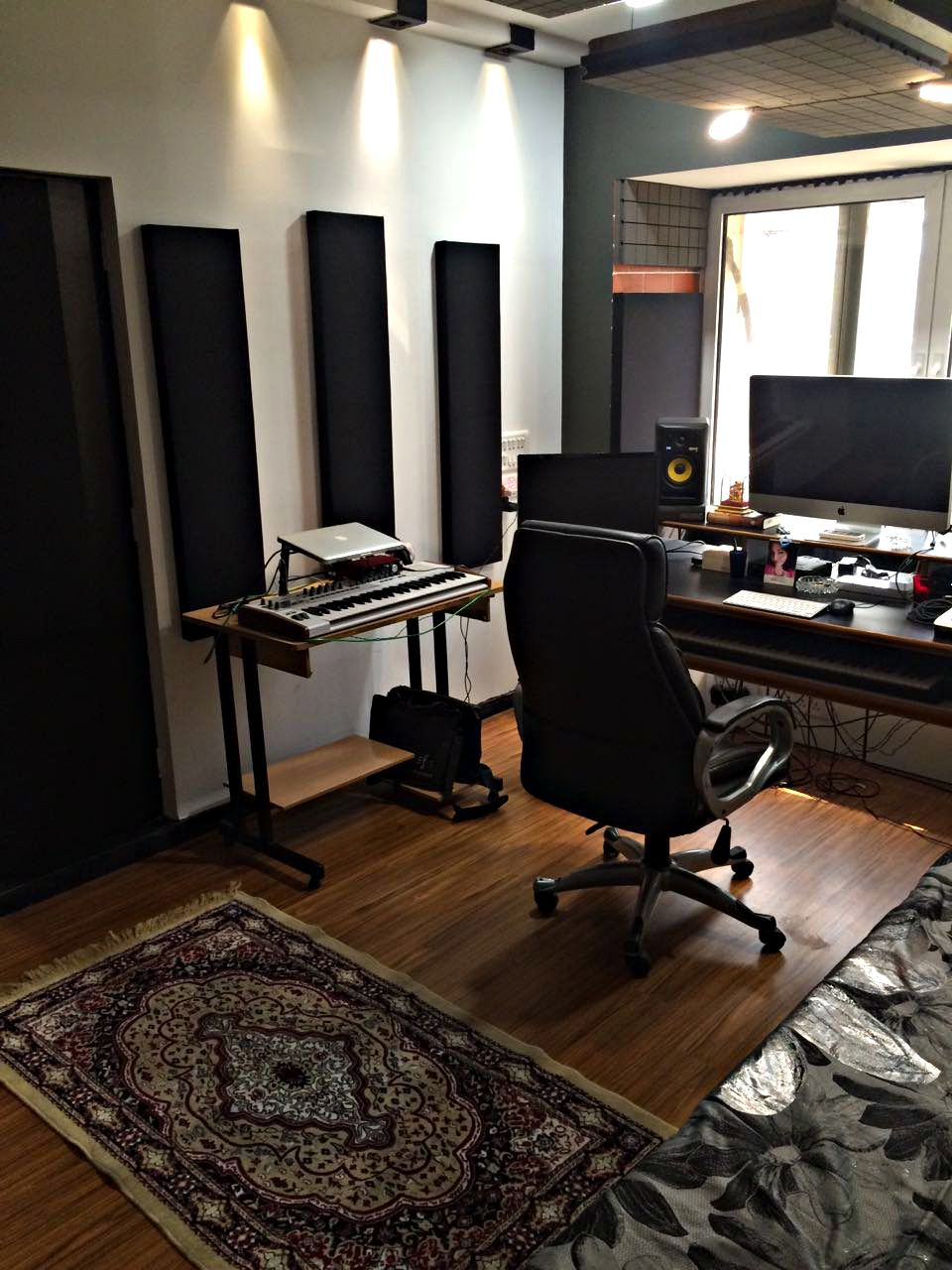 Exceptional Ultracoustic Studio Acoustic Treatment