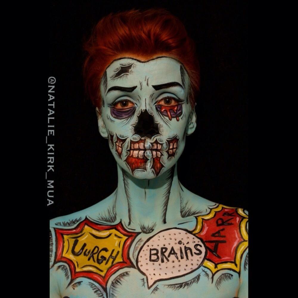 Pop zombie halloween ideas pinterest halloween makeup makeup
