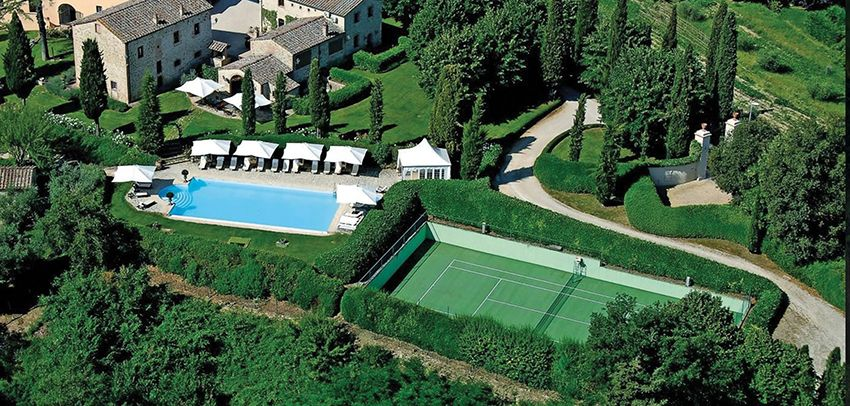 luxurious and splendid italian home design. Luxury villa Tuscany perfect for a splendid holiday on the s  countryside Ideal vacation