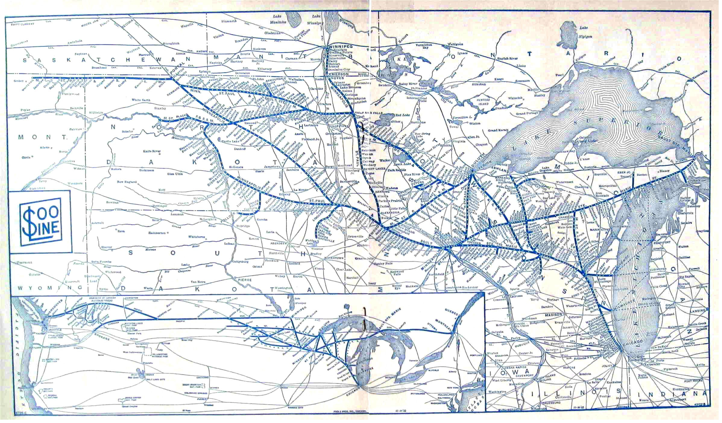 Soo Line map 1947, (pre Milwaukee Road) | Milwaukee road ... Milwaukee Road Route Map Minnesota on wheeling & lake erie route map, union pacific route map, virginia & truckee route map, chicago great western route map, united route map, grand trunk route map, milwaukee railroad lines, air canada route map, milwaukee railroad in idaho, air china route map, georgia railroad route map, soo line railroad map, strasburg railroad route map, illinois central route map, mt. shasta route map, via rail canada route map, rock island route map, iberia route map, southern railway route map, dallas area rapid transit route map,