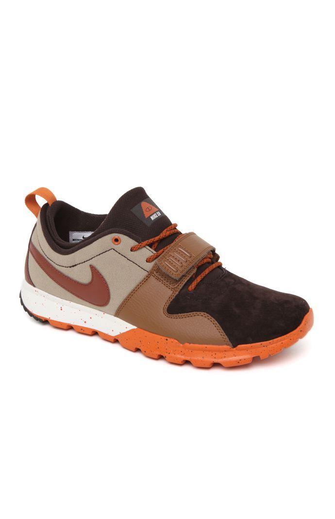 PacSun presents the Nike SB Trainerendor Low Poler Shoes for men. These  collaboration men's shoes