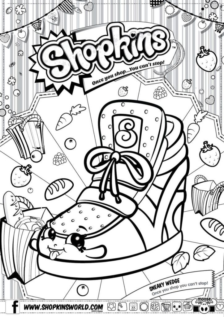 Shopkins Coloring Pages Season 2 Sneaky Wedge | shopkins ...
