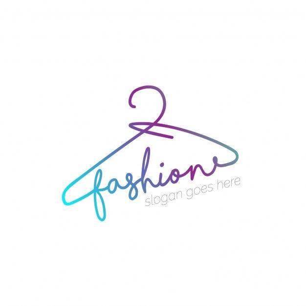 Descarga Gratis Logo Con Diseno De Percha Nombres De Boutique