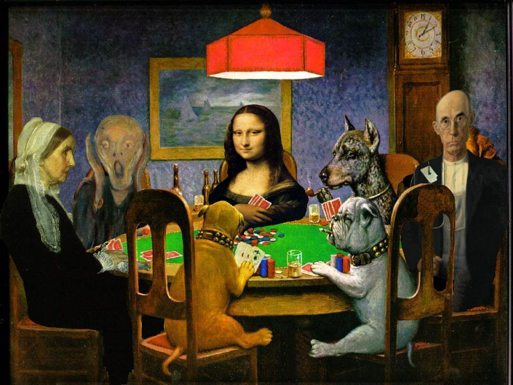 Brissympost Dogs Playing Poker Poker Poker Quotes