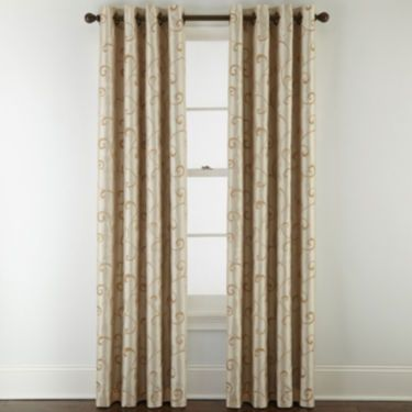 Royal Velvet Plaza Embroidery Blackout Grommet Top Curtain Panel Today At Jcpenneycom You Deserve Great