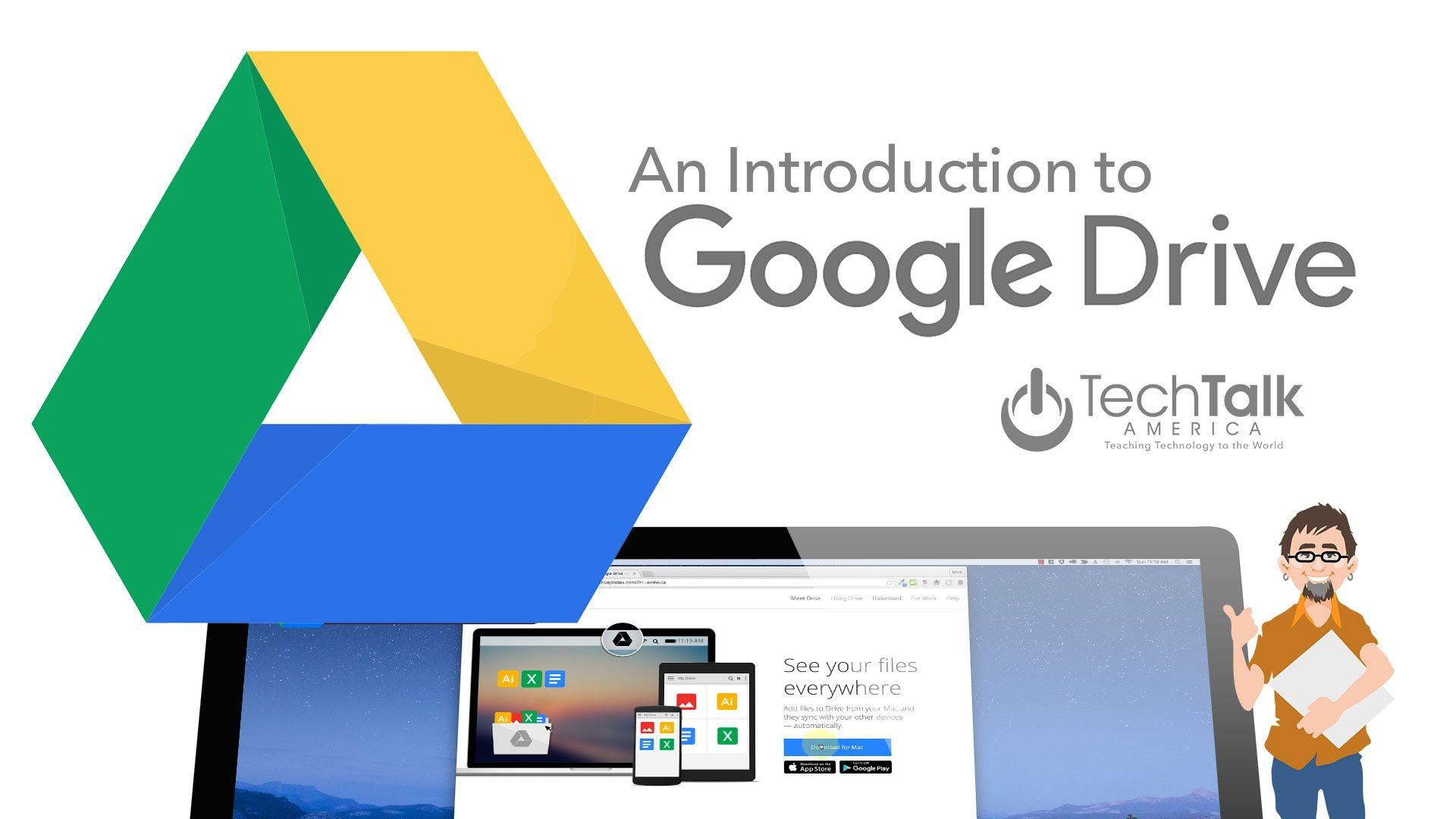 If You Re New To Google Drive This Class Is A Great Place For You