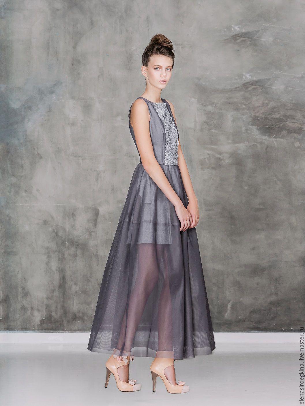 b58efaf9a0e Купить или заказать Платье из итальянского кружева и сетки в интернет- магазине на Ярмарке Мастеров