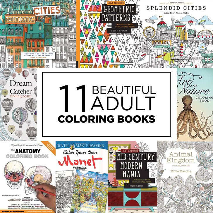 11 Beautiful Adult Coloring Books Date Night