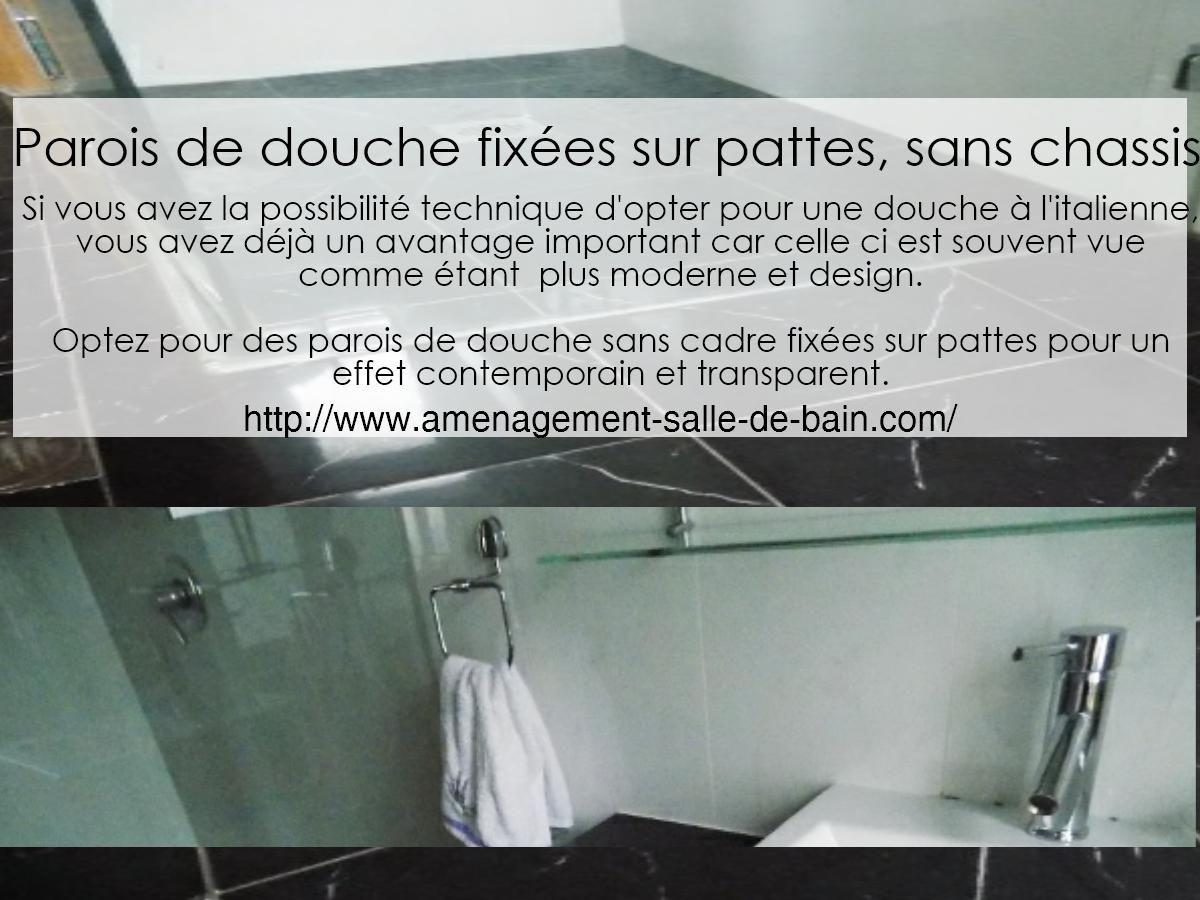petite salle de douche design