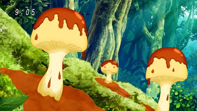 Pudding Trumpet Mushroom Toriko Wiki Stuffed mushrooms
