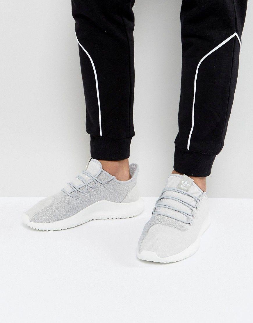 adidas originali tubulare ombra scarpe in grigio by3570 gray