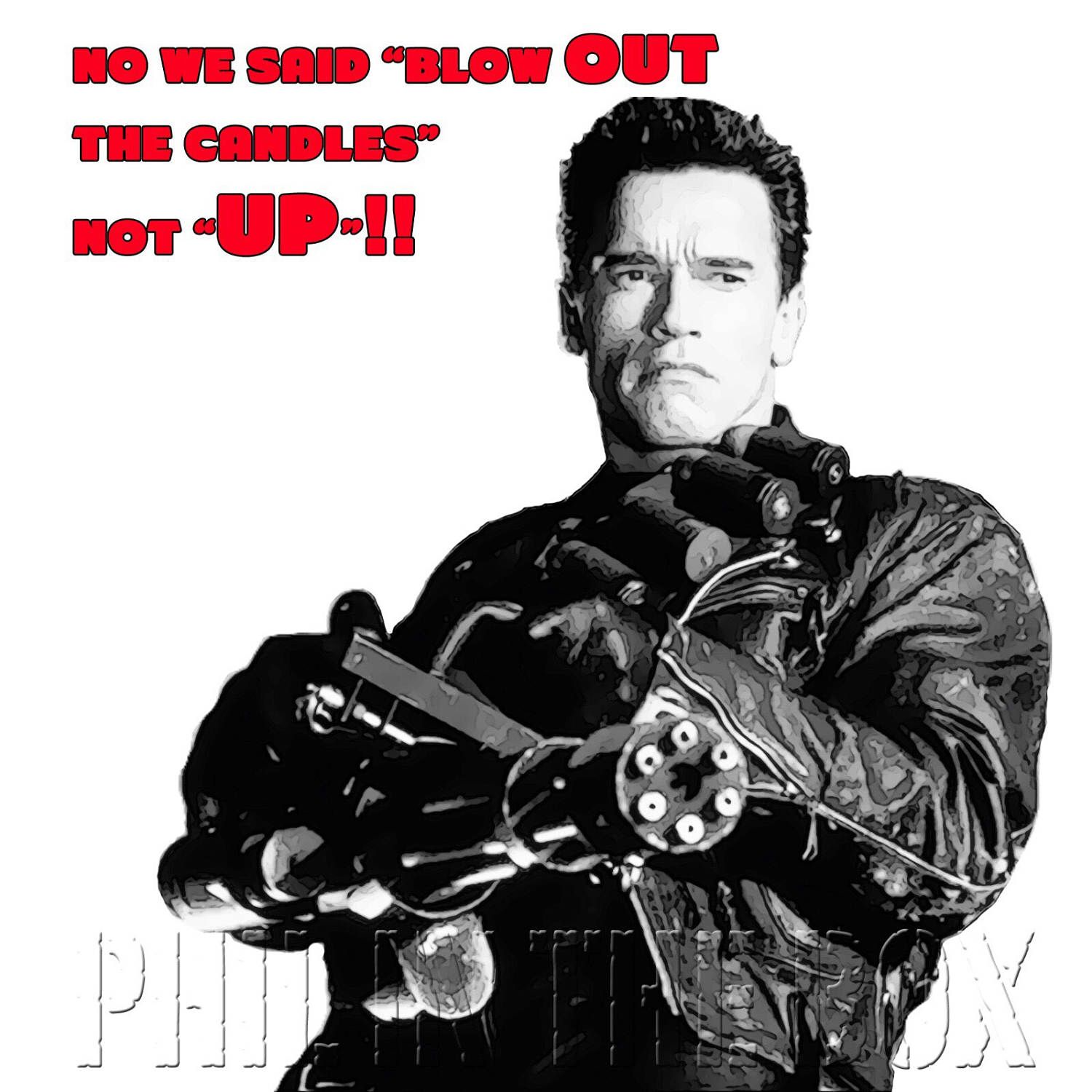 Arnie birthday card arnold schwarzenegger card movie themed items similar to arnie birthday card arnold schwarzenegger card movie themed birthday card terminator birthday card card for movie fan funny card on bookmarktalkfo Image collections