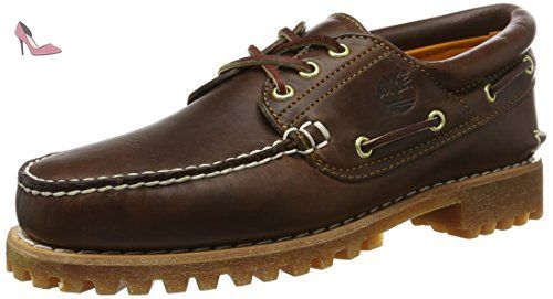 Hs Homme Timberland Brunbrown Trad Eye LugChaussures 3 Basses sQBCdxthro