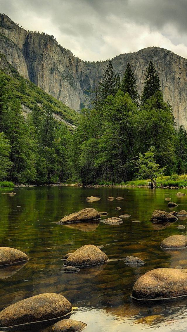 Beautiful Nature.. Mountains.. Water, rocks, trees ...