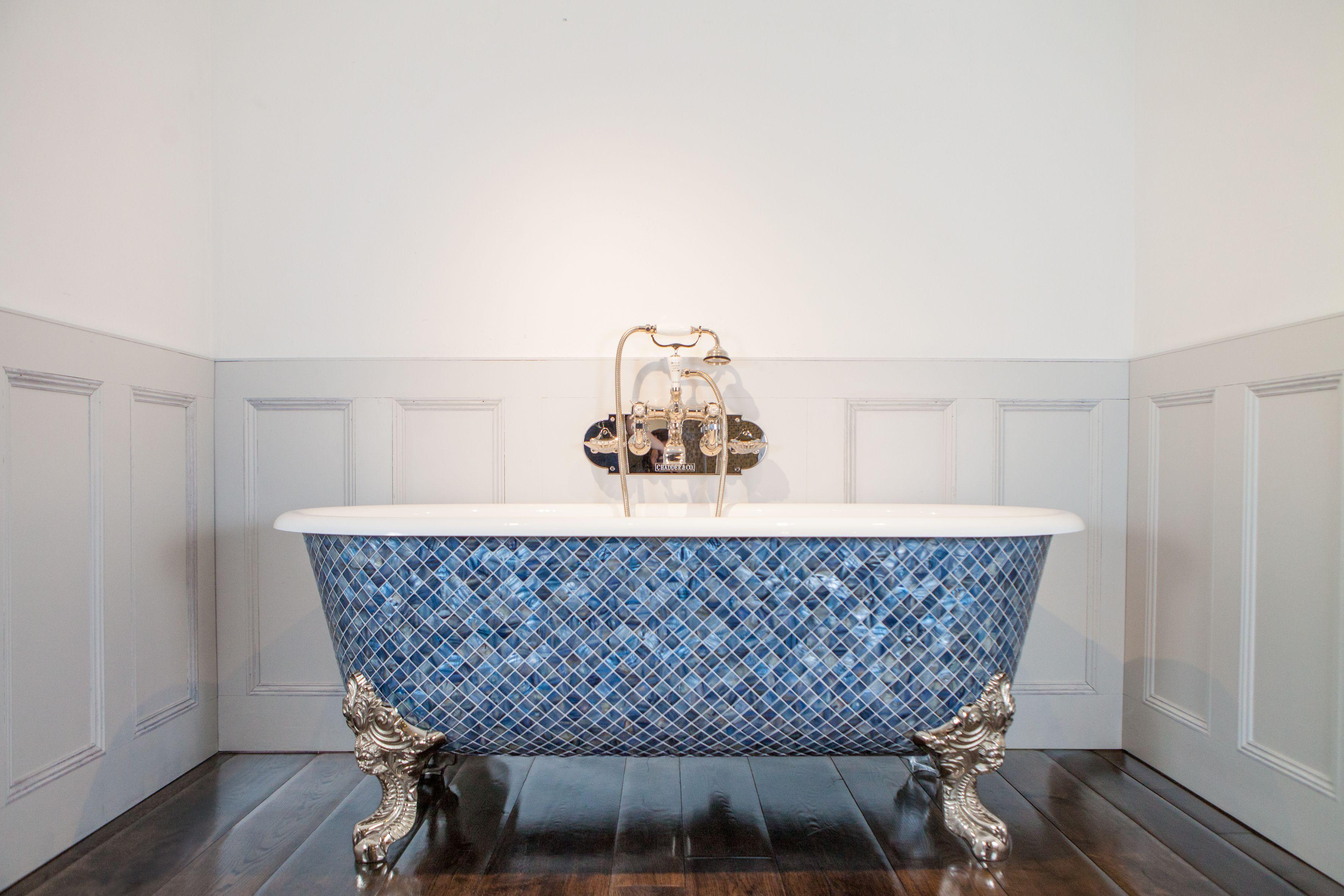 Mosaic clawfoot tub by Chadder. Blissful Bathtubs We Love at Design ...