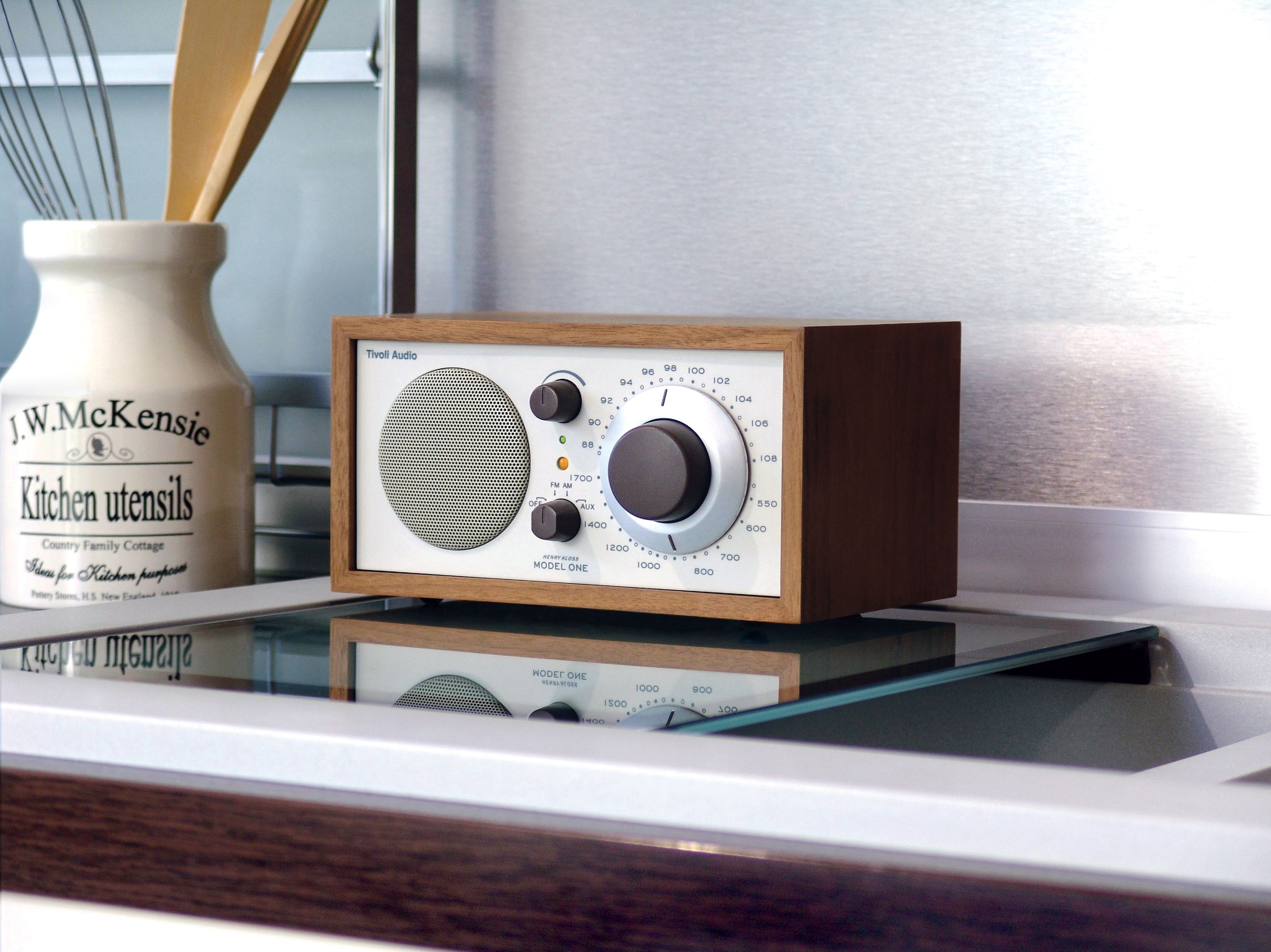 the tivoli audio model one radio makes a perfect kitchen radio there are 18 finishes to choose. Black Bedroom Furniture Sets. Home Design Ideas