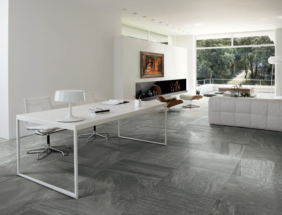 Galena Stone Inspired Porcelain Tiles