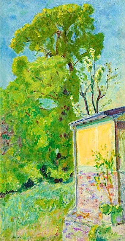 Pierre Bonnard Coin De Maison Pierre Bonnard Art Modern Art