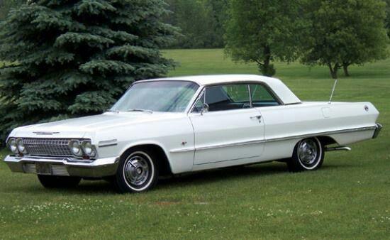 1963 Chevy Impala 2 Door Hardtop
