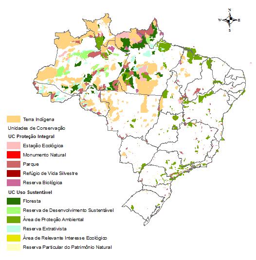 Sistema Nacional de Unidades de Conservação - Sistema Nacional de Informações Florestais