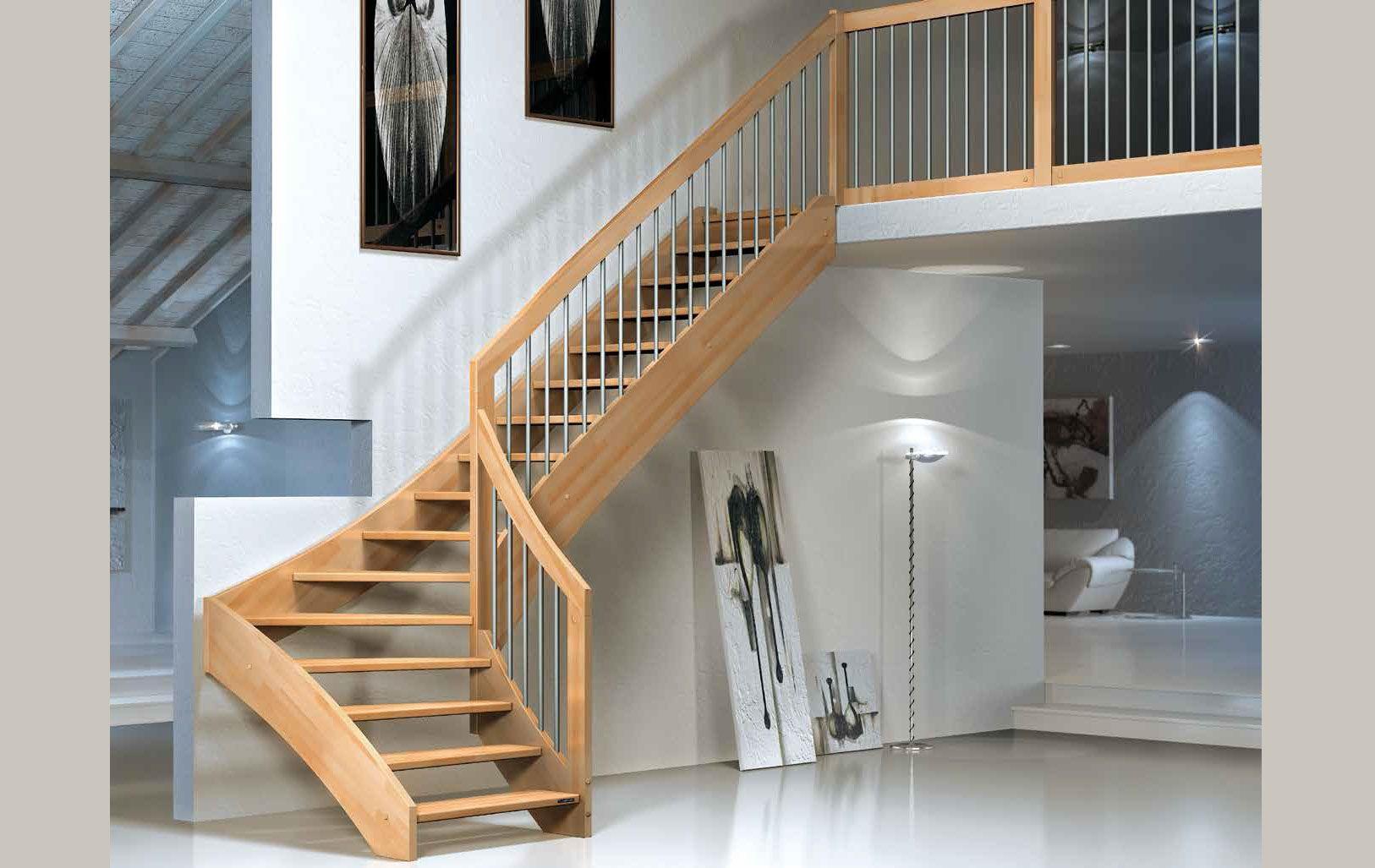 Scale a giorno scale per interni scale di legno massiccio scale a giorno in ferro scale a - Prezzi scale a giorno ...