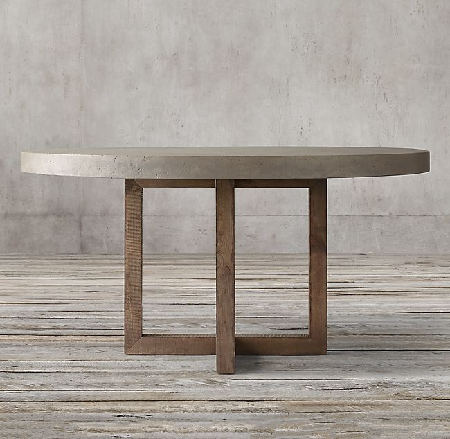 Heston Round Dining Table Concrete Dining Table Round Concrete Dining Table Round Dining Table