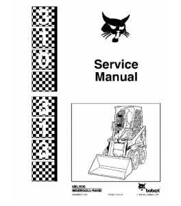Best download bobcat skid steer loader service repair