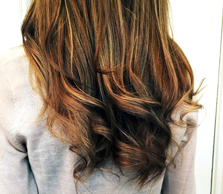 Hair hairstyle balayage brown highlights ombre mariannan
