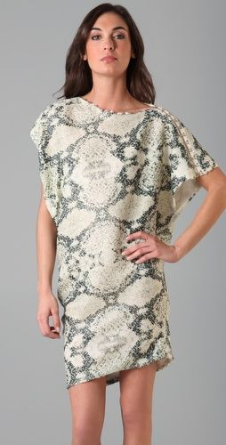 thakoon sequin snakeprint dress..yum