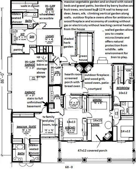 Pin On Floorplans Floor Plans Craftsman Scandinavian Farmhouse Queen Anne Victorian Saltbox Cottage