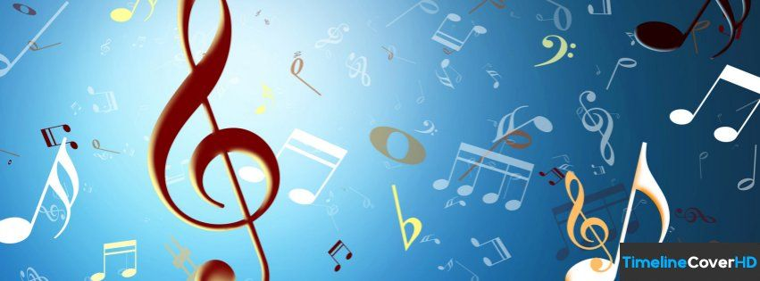 Musical Notes Facebook Timeline Cover Hd Facebook Covers Timeline Cover Hd Music Wallpaper Musical Wallpaper Music Symbols