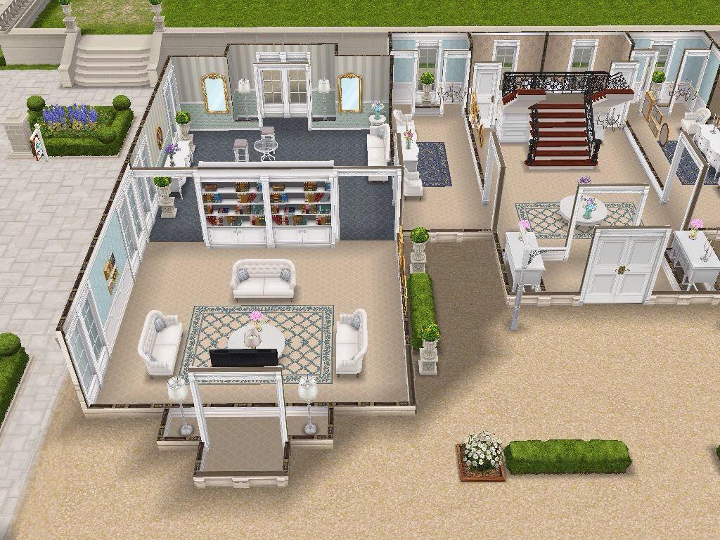 Desain Rumah Mewah Di The Sims Freeplay