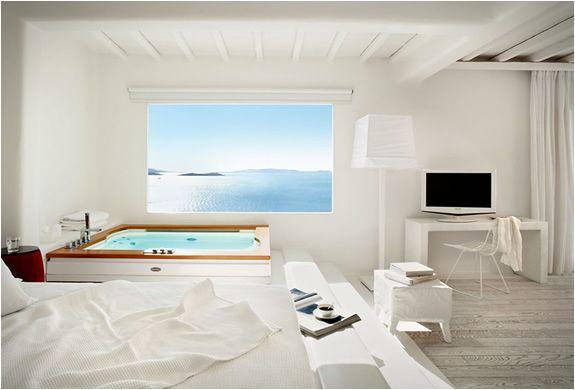 The Cavo Tagoo Hotel In Mykonos Greece Bedroom Hotel Hotel