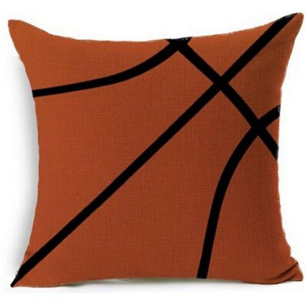 Sports Basketball Design Throw Pillow Case Personalized