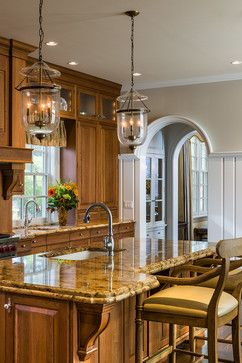 Best Beautiful Traditional Kitchen Get The Warm Look Of These 640 x 480
