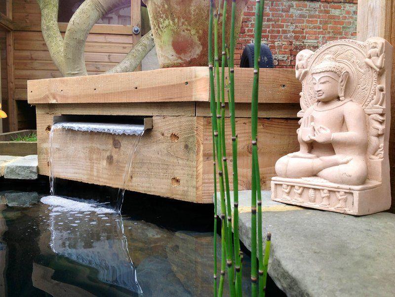 Customer gallery of water blade waterfall water blades