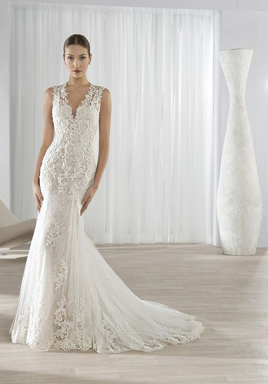 Demetrios 595 Mermaid Wedding Dress | F - Gowns | Pinterest ...