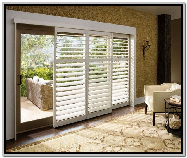 Best Window Treatments For Sliding Glass Patio Doors