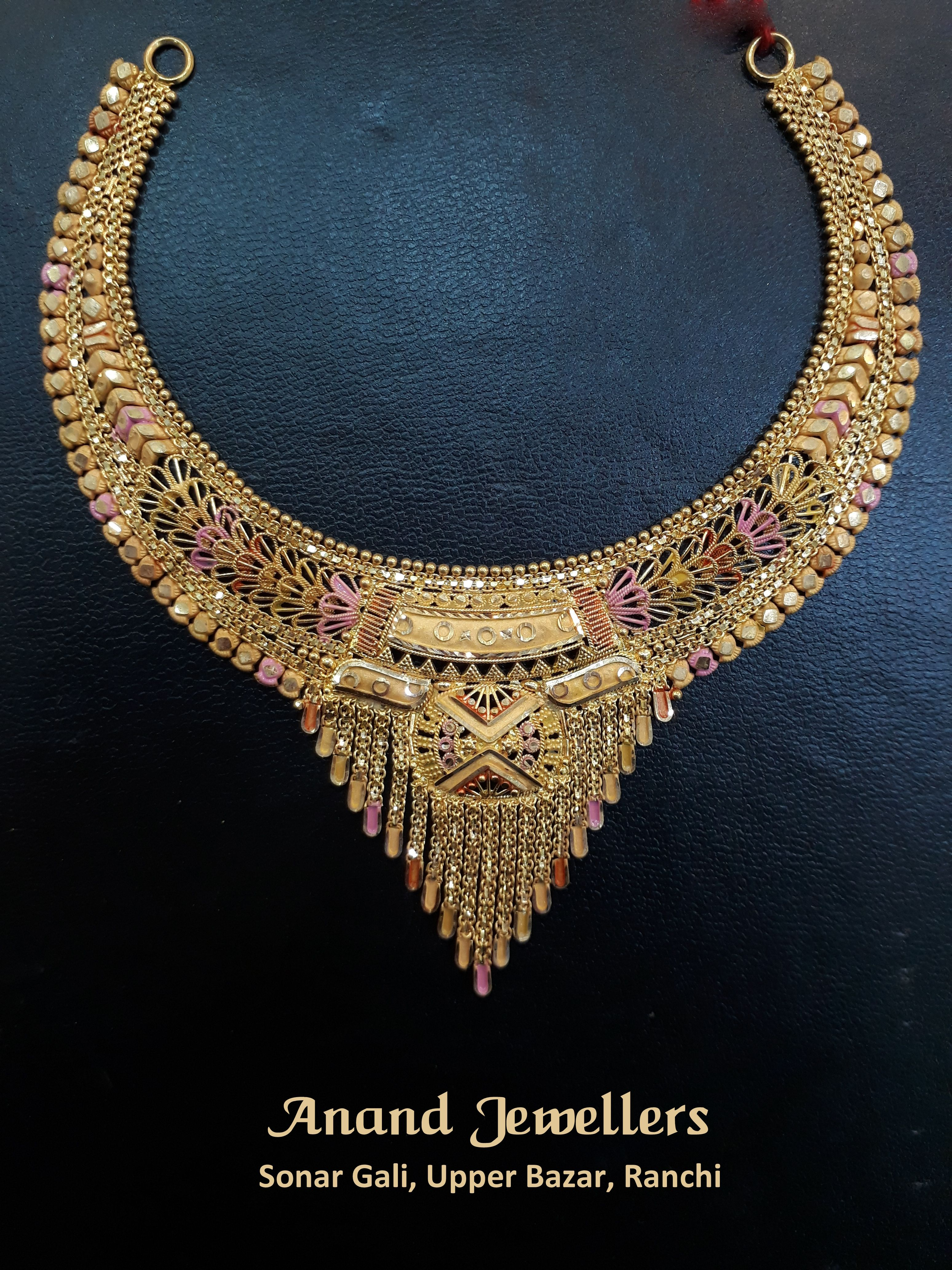 Visit Anand Jewellers at Sonar Gali, Upper Bazar, Ranchi