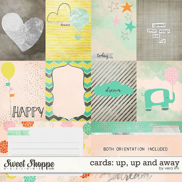 Up, Up and Away :: Cards by Vera Lim