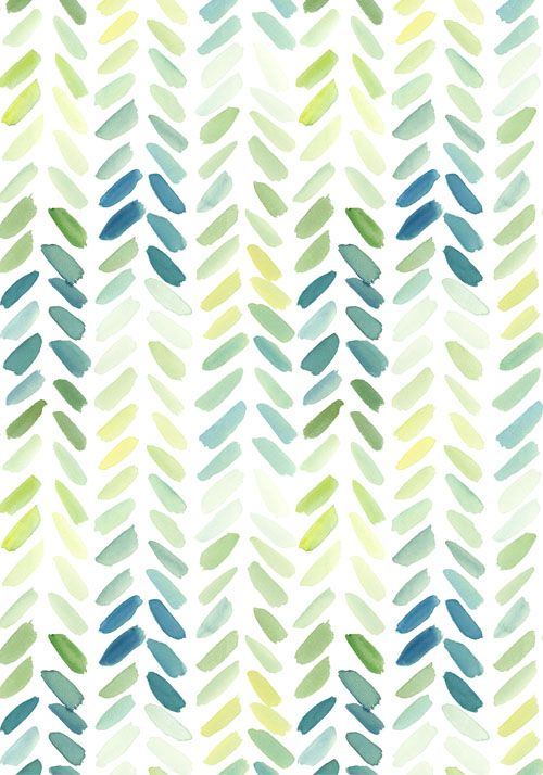 Watercolour Herringbone Design Love Fest May 2014