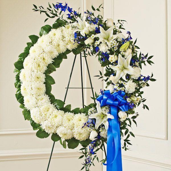 how to make funeral flower arrangements
